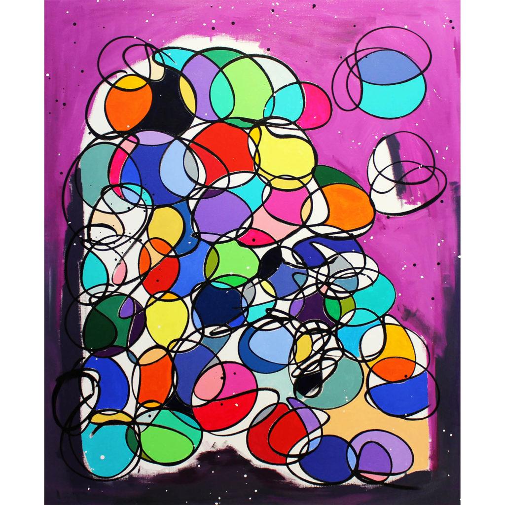 Cavi Bubble Peinture Galerie Perahia