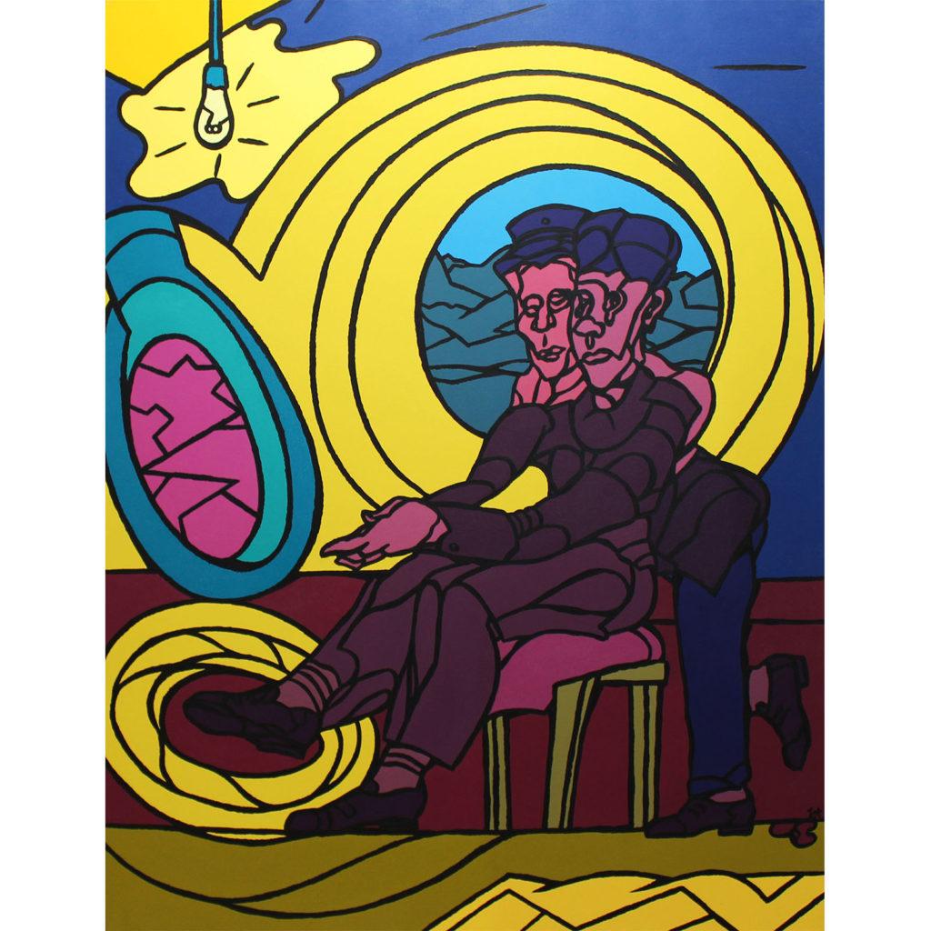 Adami Valerio Peintre Galerie Parahia