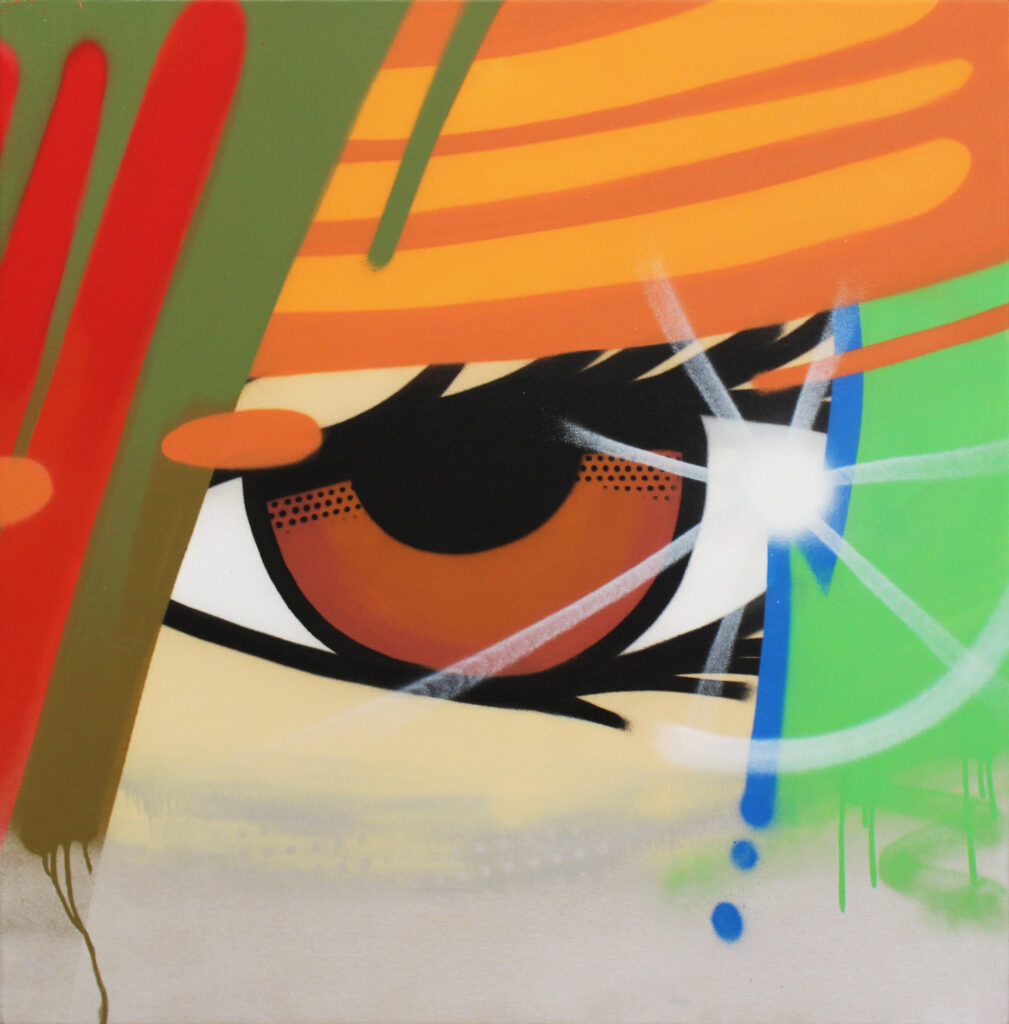 Crash Street Art Peinture Galerie Perahia