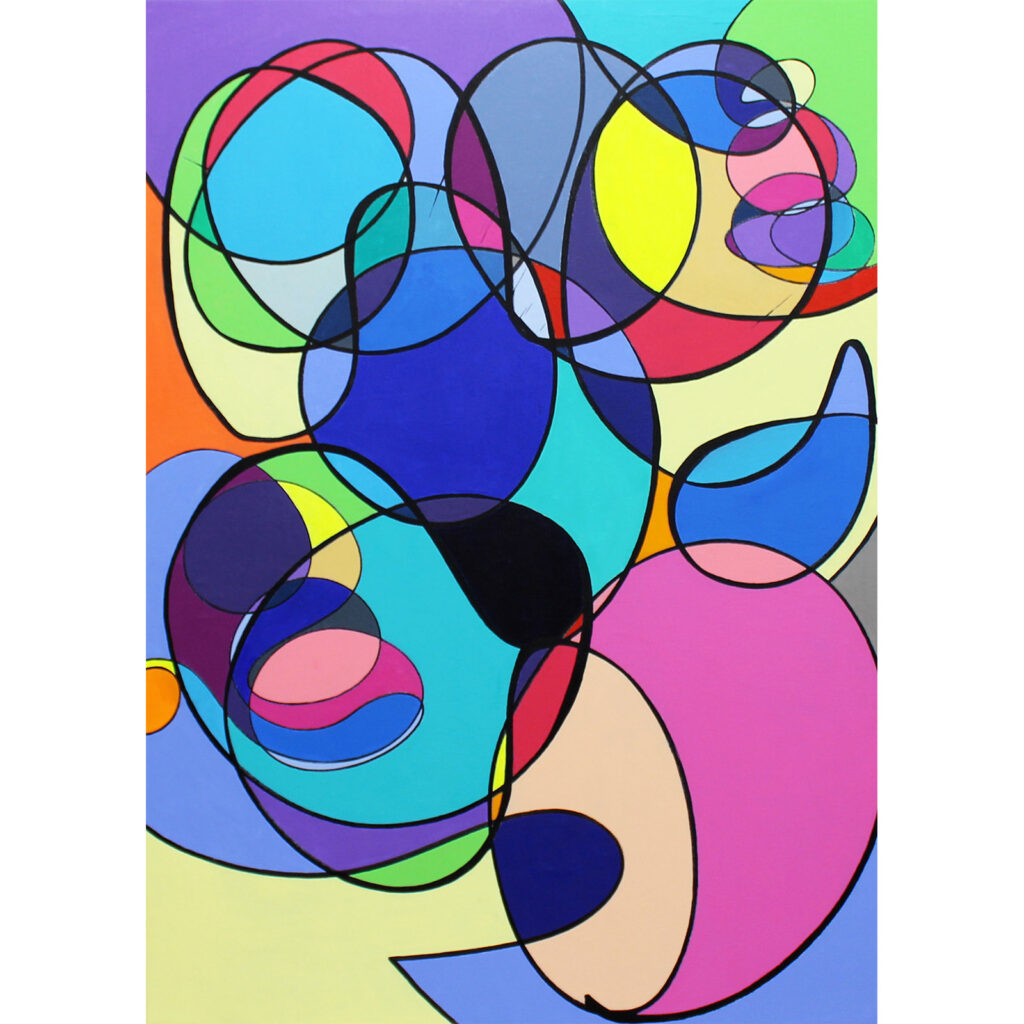 Cavi Bubble Peinture Galerie Parahia