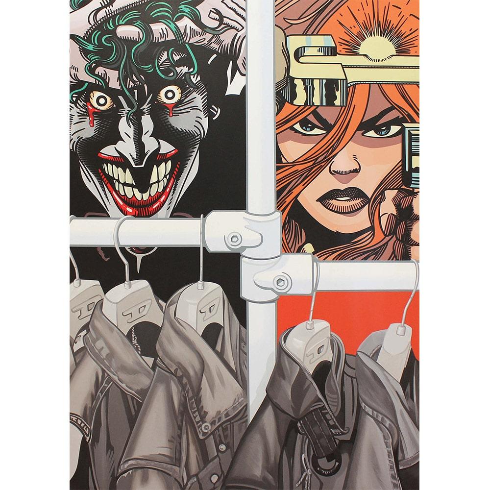 Erro Dressing Joker Peinture Galerie Perahia