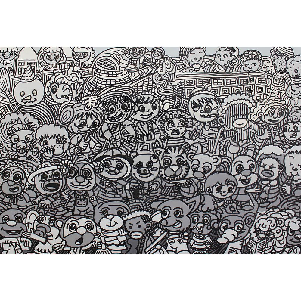 Erro Faces Peinture Galerie Perahia